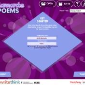 diamente poem Read write
